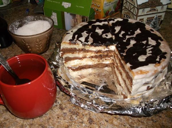 Торт мишки на севере рецепт с фото пошагово в домашних условиях