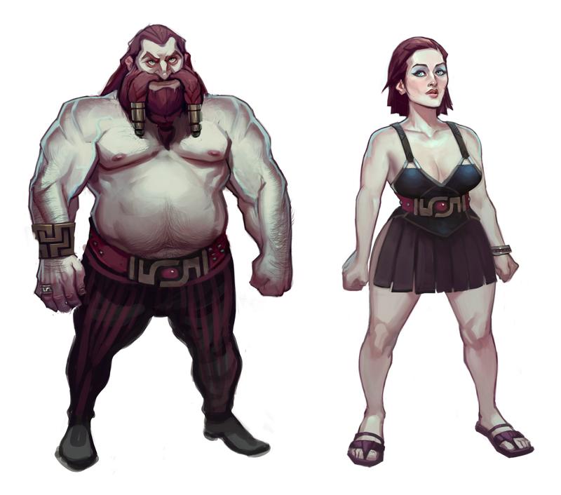 Fantasy nude dwarfs naked images