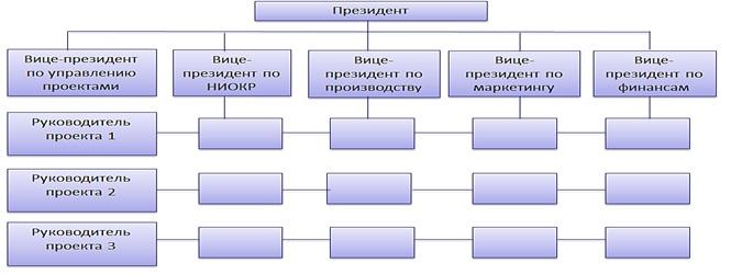 Матричная форма организации