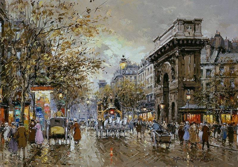 Париж картинки зима