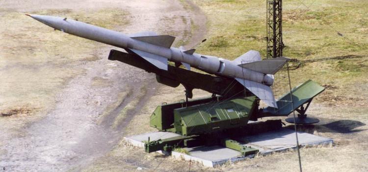 ЗУР В-750 на ПУ СМ-63 []