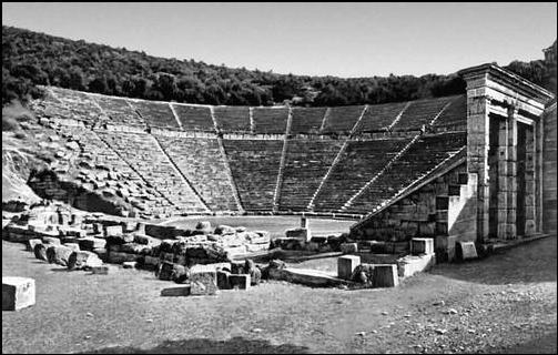 Театр в Эпидавре(Греция),