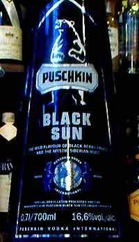 Puschkin Black Sun