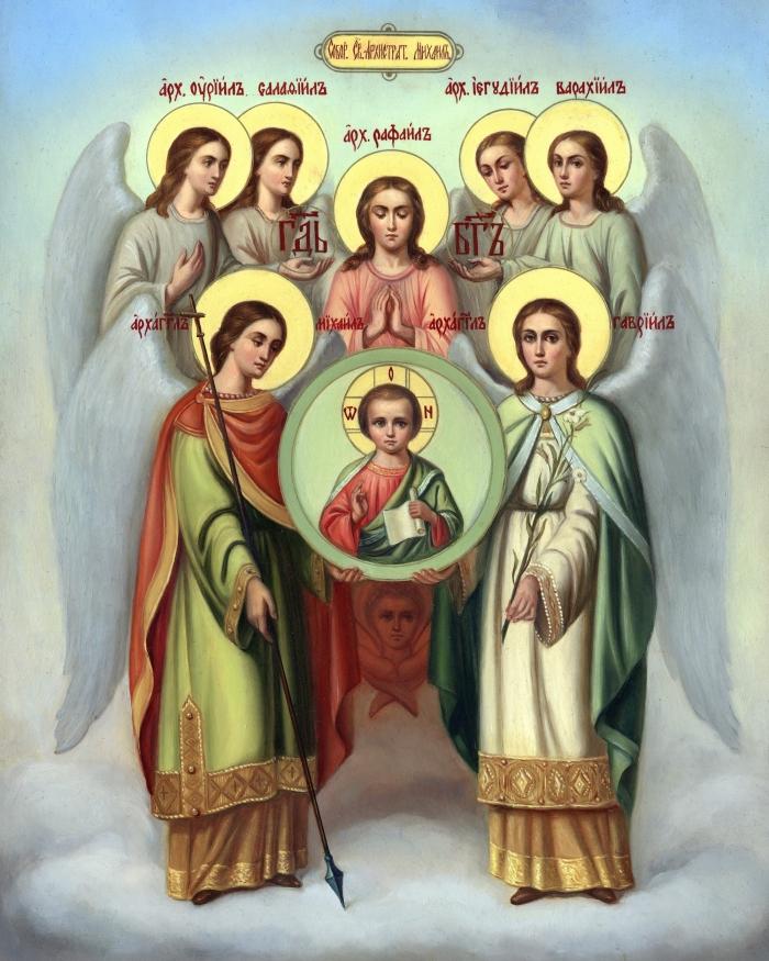 чины ангельские
