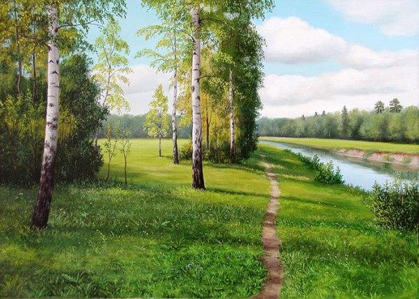 разлилось небо синевою застыла рыжая река век второго тысячелетия