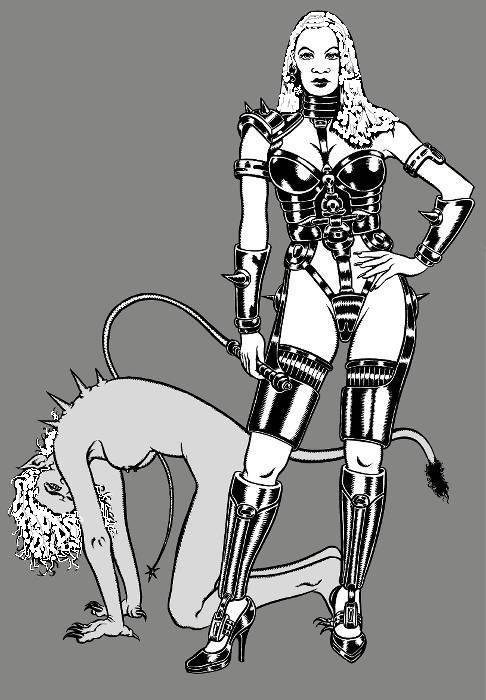 Парень и волшебницы борются со злом при помощи секса