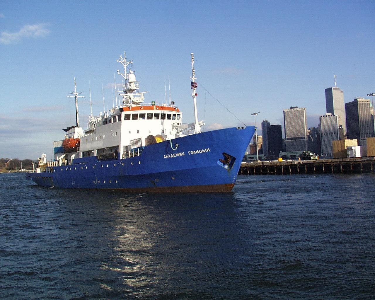 Азербайджанское судно задержано в водах Казахстана.