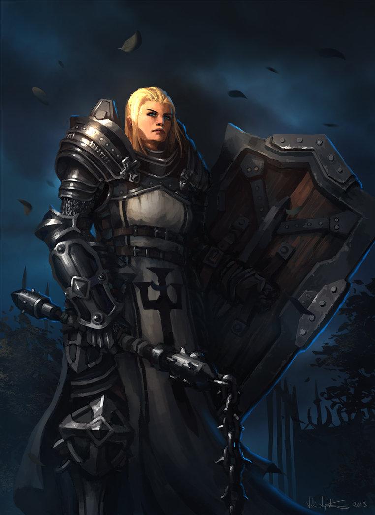 Diablo 3 female crusader porn nude picture