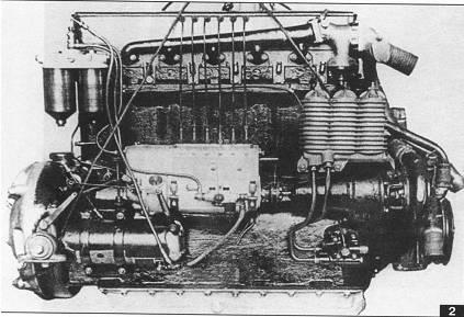 12-ти цилиндровый польский дизельPZ650TL, послуживший основой для создания 48-ми цилиндрового авиационного дизеляPZ2600АTL.