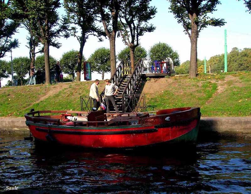 северная венеция лодки