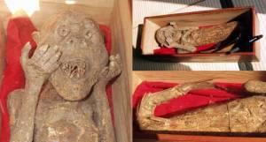 русалка хранится в Myouchi Храме  []