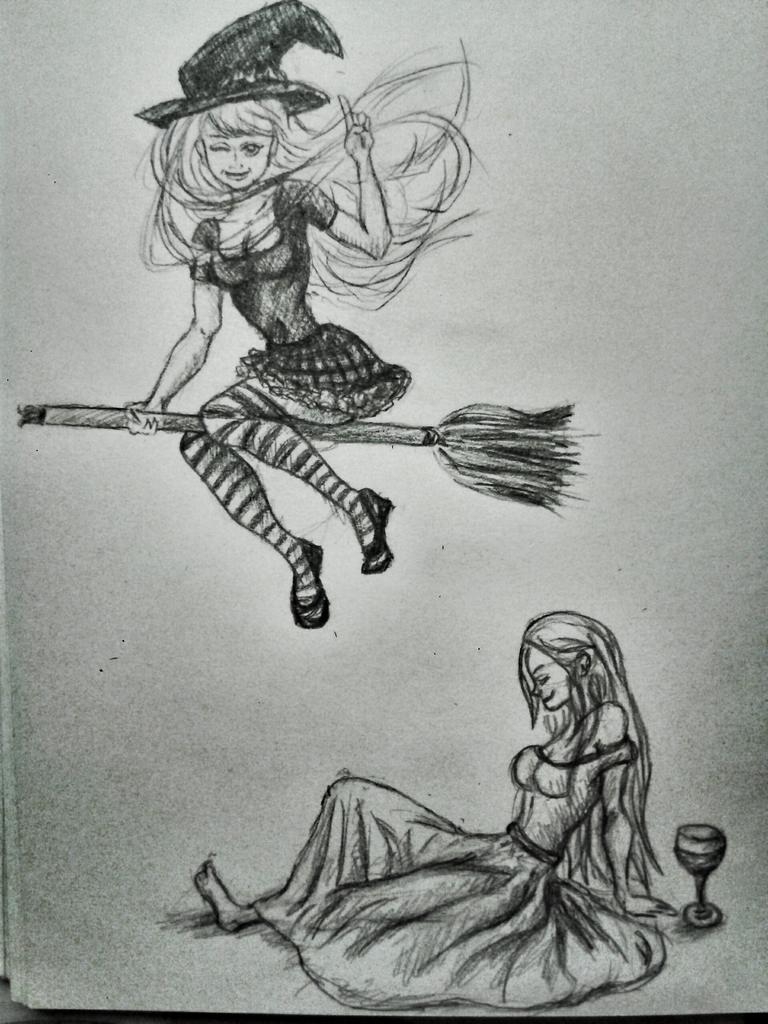 Ведьмочки от лизы лиза если автор