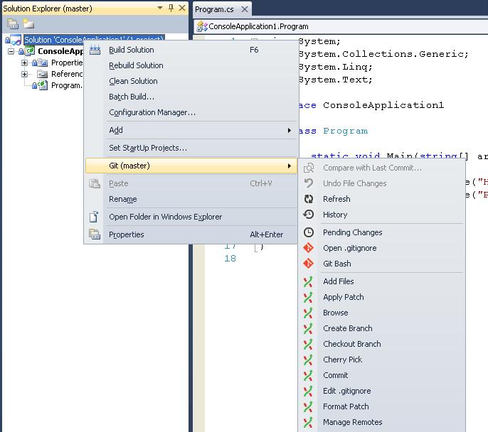 Зворыгин Игорь  Как интегрировать Git с Visual Studio